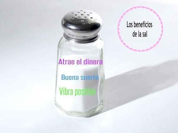 Atrae la buena suerte con la sal { Tips para el hogar }