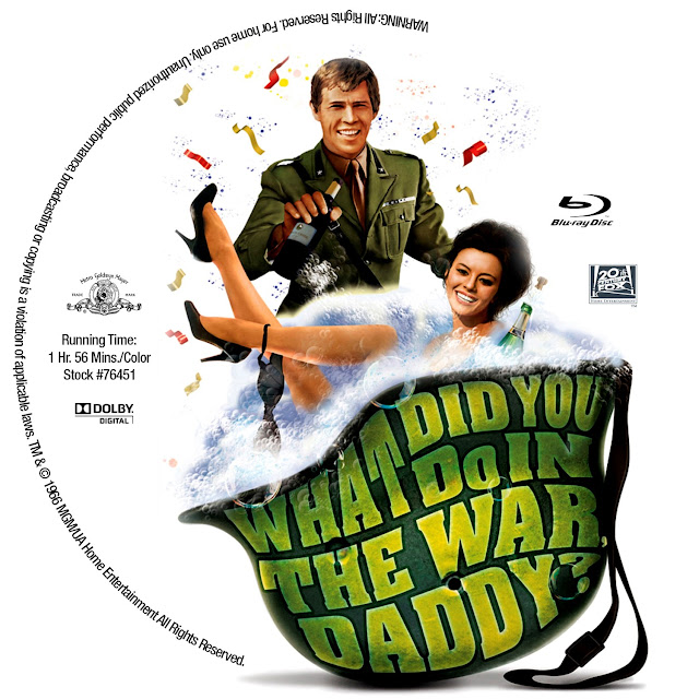 What Did You Do in the War, Daddy? Bluray Label