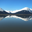 On Mirror Pond, or, reflections on Turnagain Arm Alaska