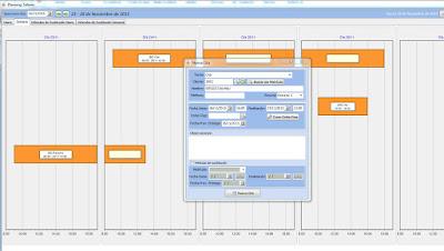 Imagen de la pantalla de planning de GestFuturo
