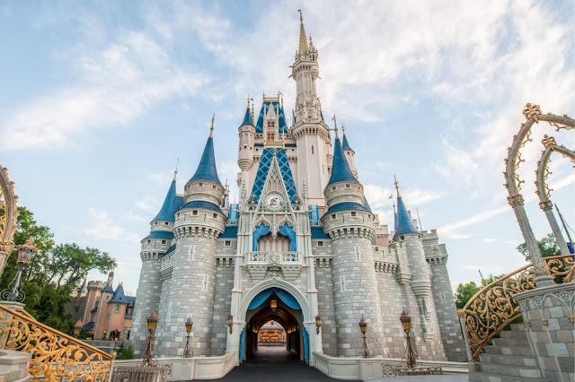 Perspectiva forçada no castelo da Cinderela