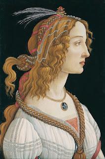 Πορτρέτο νεαρής γυναίκας, πιθανώς της Simonetta Vespucci, 1484