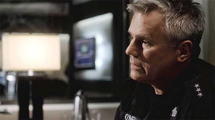 "Richard Dean Anderson as Jack O'Neill in ""Air"" of Stargate Universe"