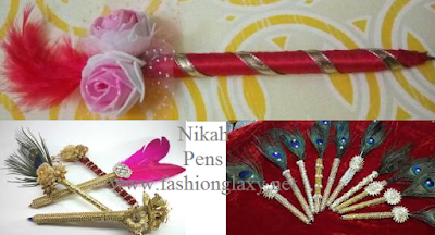 wedding signing pens