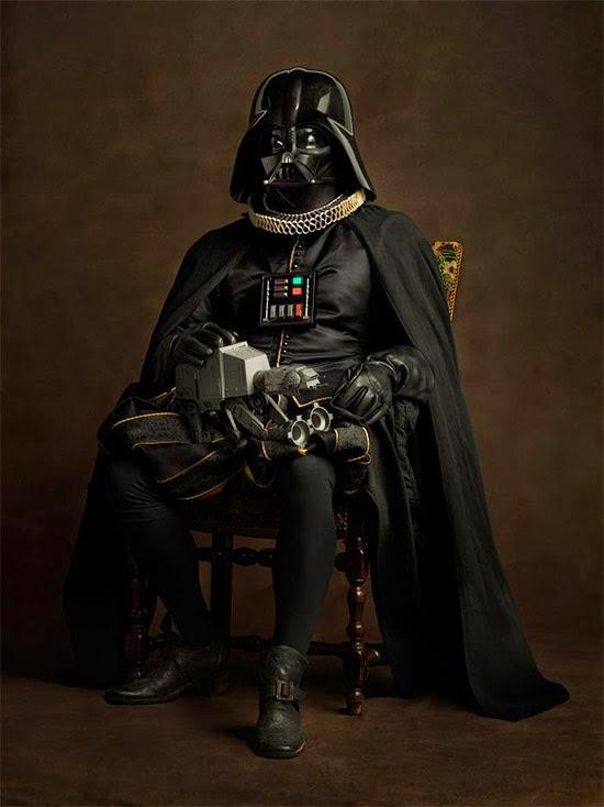 Darth Vader medieval