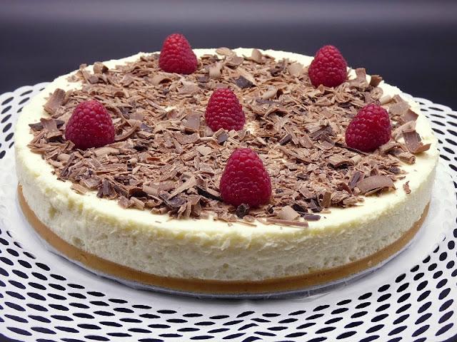 Tarta Mousse De Chocolate Blanco