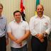 Dirigentes do Senai estiveram na prefeitura para agradecer parceria
