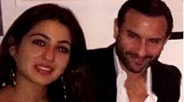 Saif Ali Khan's Dinner With His Daughter Sara
