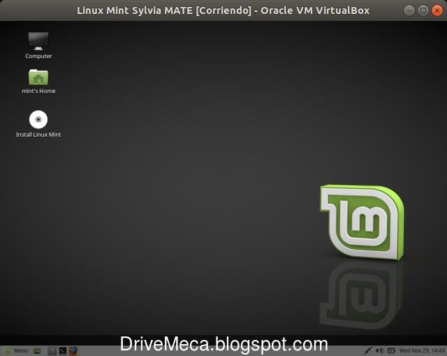 Iniciamos el instalador dando doble click a Install Linux Mint