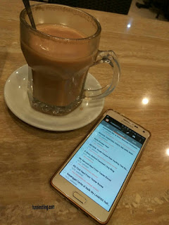 Aplikasi Blogger pada Smartphone
