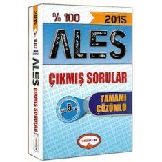 Yediiklim ALES Son 5 Yılın Çıkmış Sınav Soruları Çözümlü (2015)