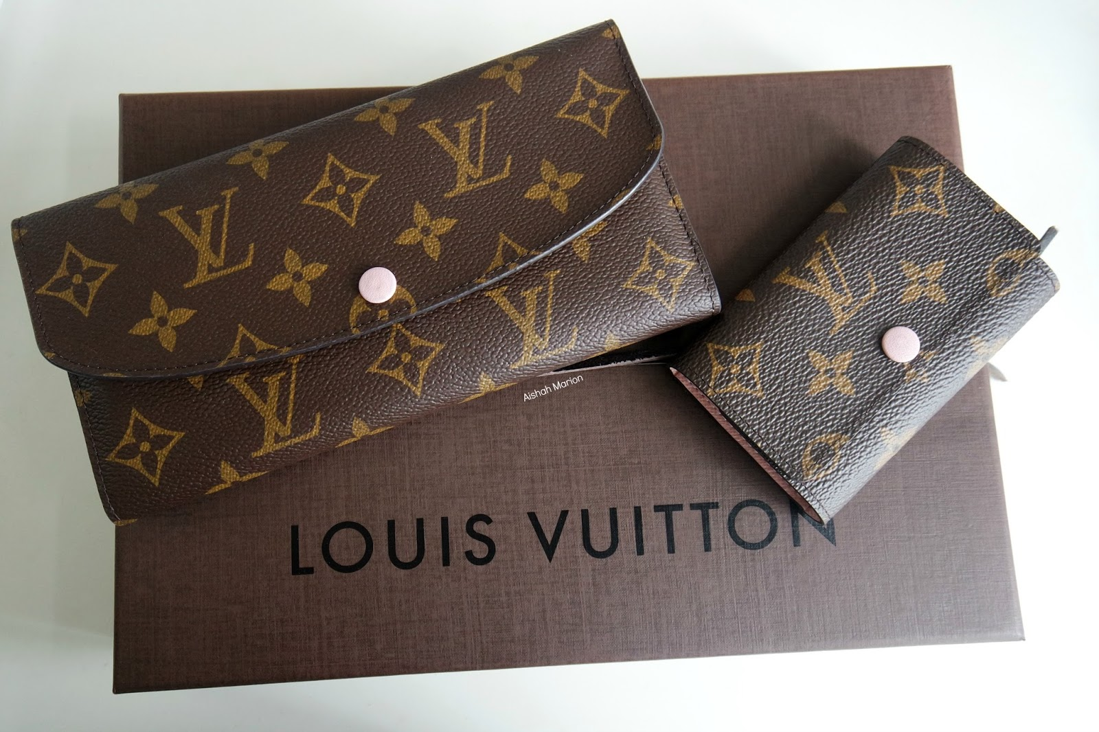 Review : Louis Vuitton Emilie Wallet & 6 Key Holder in ...