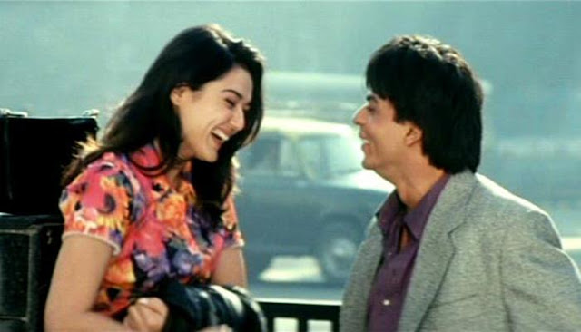 Preity Zinta (left) with Shah Rukh Khan in Mani Ratnam's Dil Se