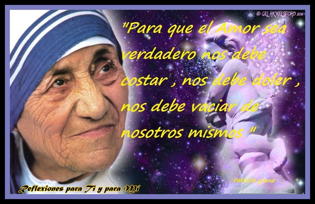 Tag Frases De La Madre Teresa De Calcuta Sobre El Amor Verdadero
