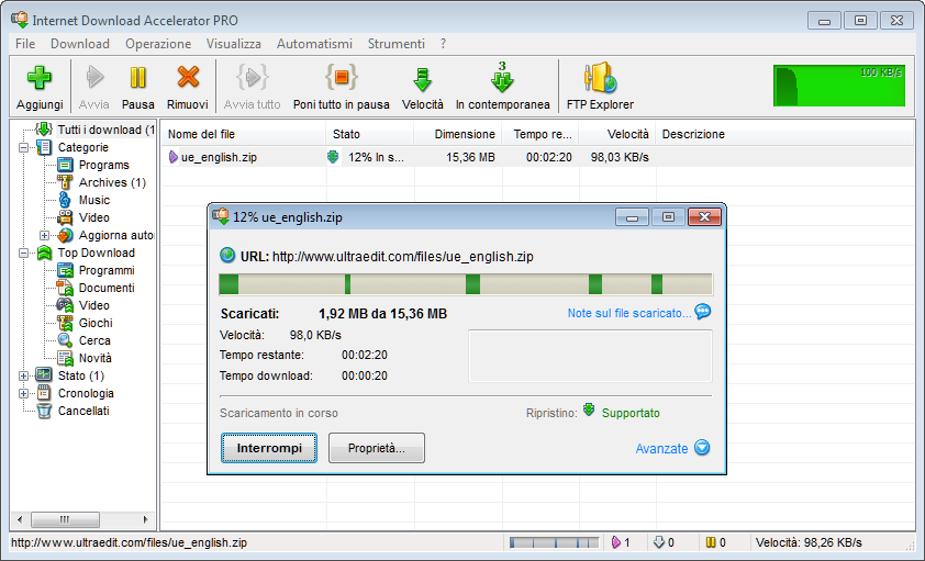 Internet Download Accelerator Pro 6