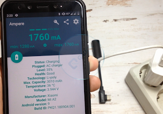 Review Singkat Uneed Type-C Adapter: charging + 3,5 mm audio (digunakan pada Xiaomi Mi A2)