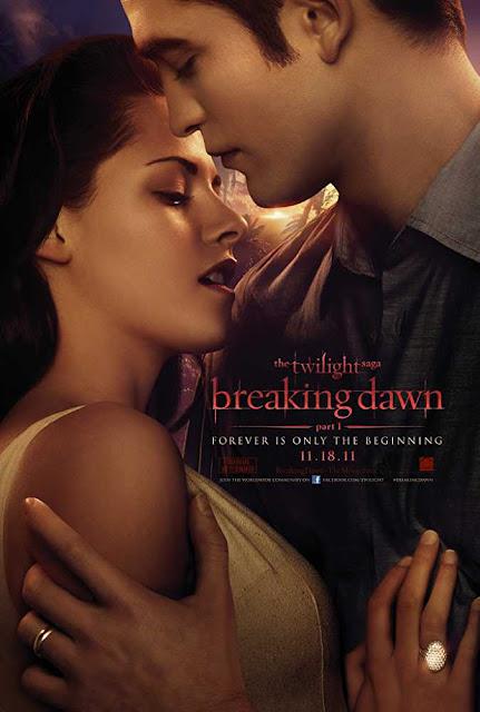 Poster The Twilight Saga: Breaking Dawn - Part 1 2011 Dual Audio Hindi Download