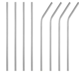 glass reusable straws