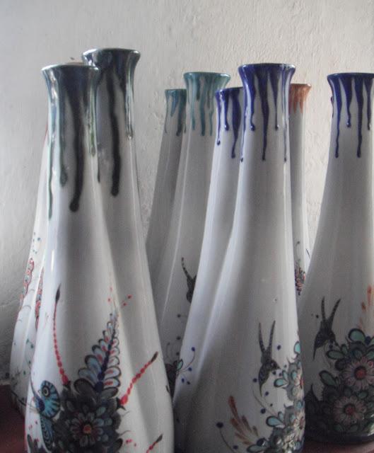 ceramics pottery Guatemala vase