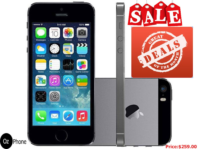 Amazon : iPhone 5s deals $259.00