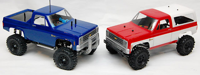 Tamiya High Lift vs Axial AX10