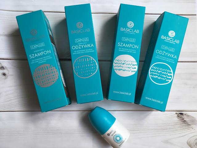 [Basiclab] Szampon i odżywka do włosów suchych