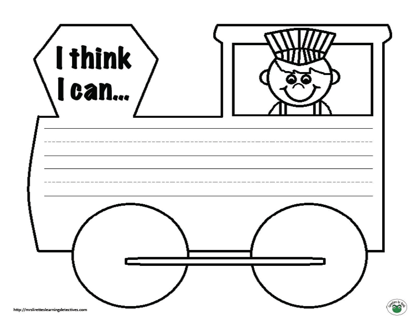 Mrs Lirette S Learning Detectives Writing Prompt Freebie The Little Engine That Could