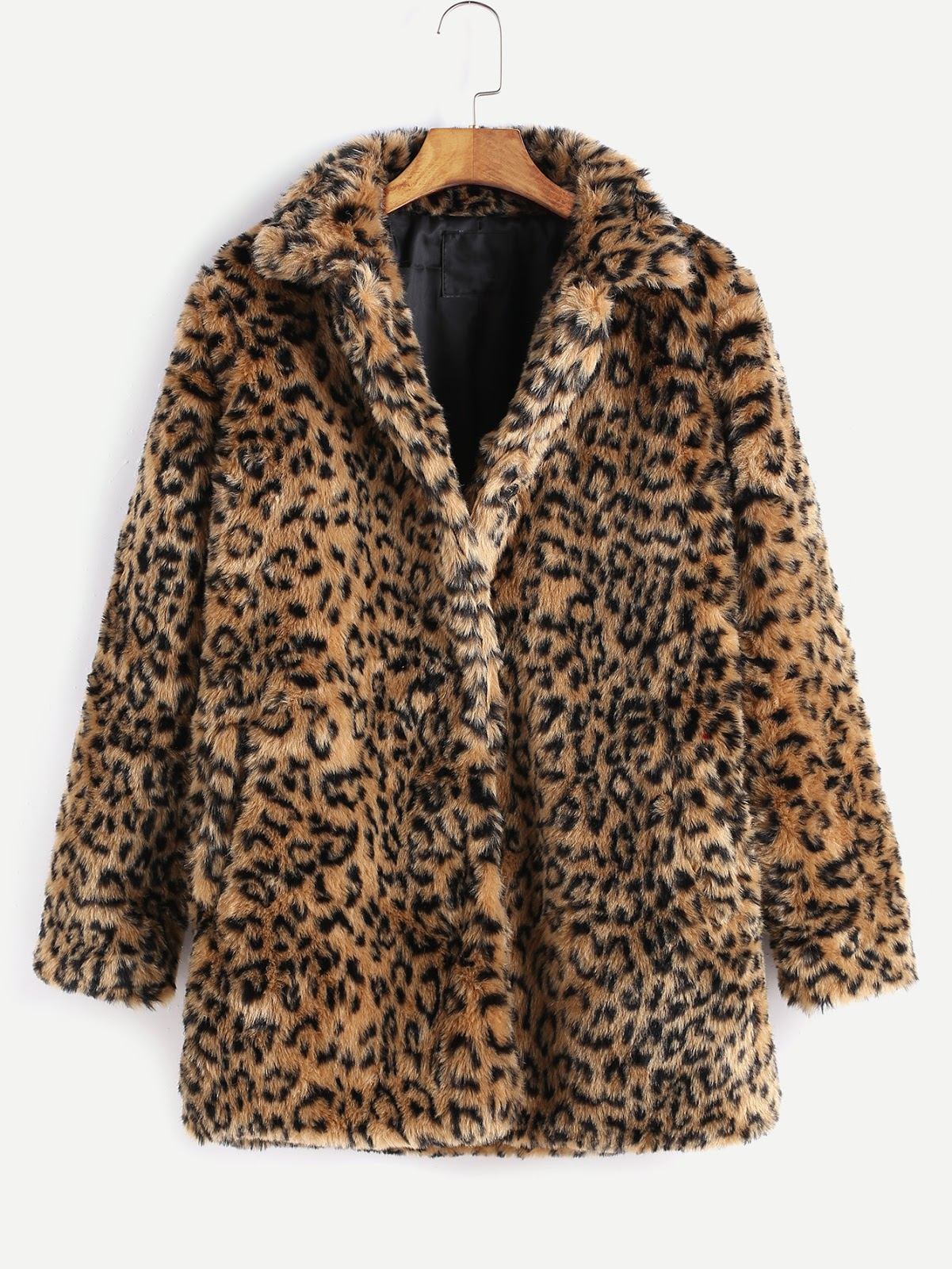 cheap leopard faux fur