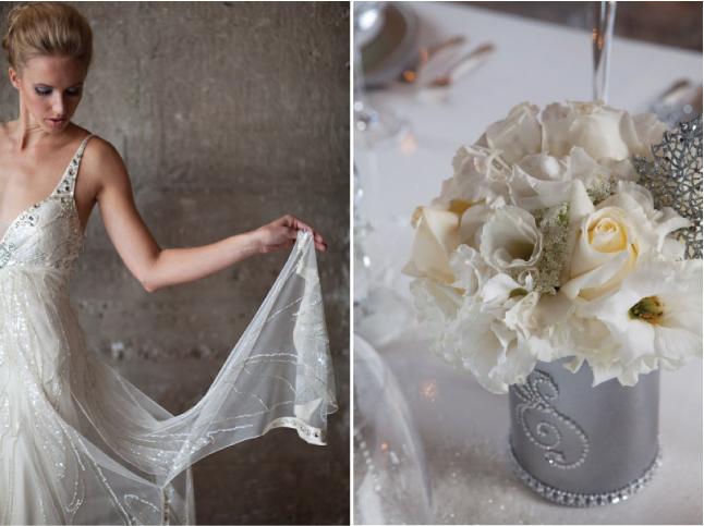 Glamorous Winter Wonderland Wedding Inspiration