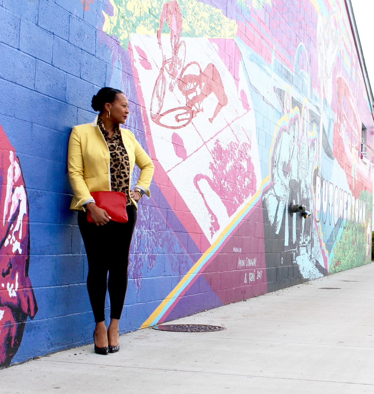 Transitioning To Spring With Pattern And Color Absolutely Alli