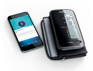 Philips upper arm blood pressure monitor
