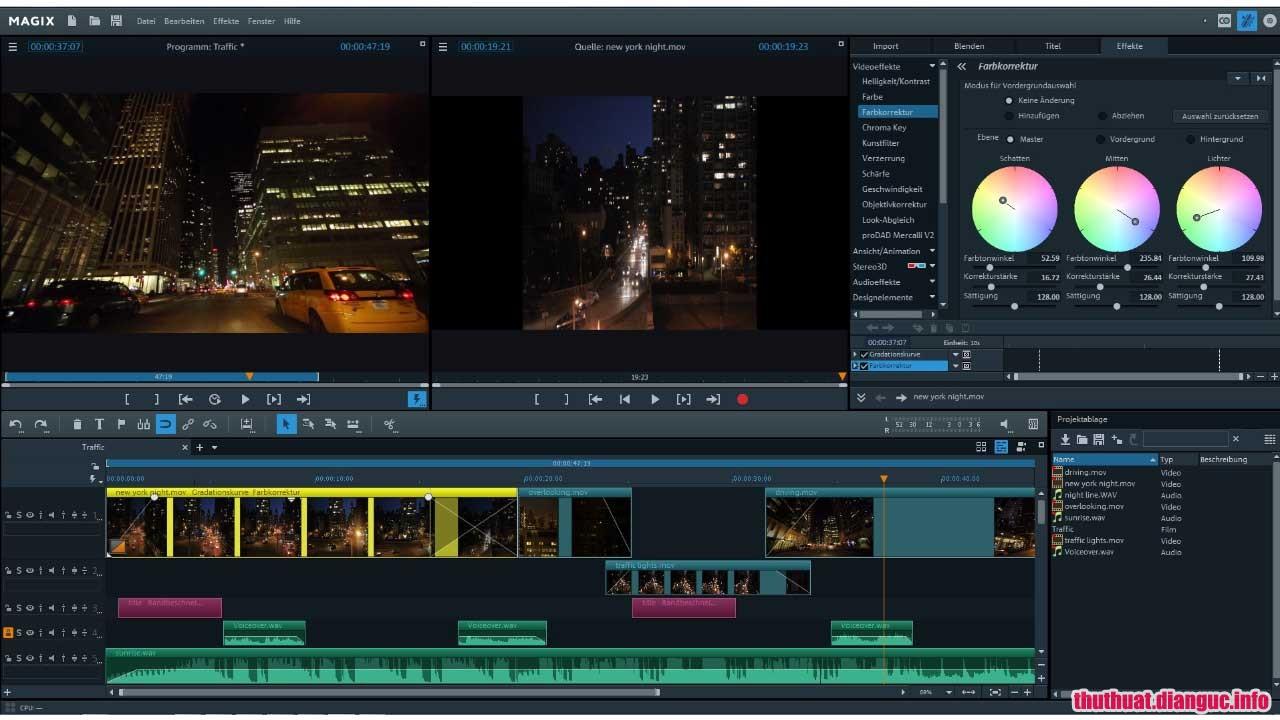 Download MAGIX Video Pro X10 v16.0.1.242 Full Cr@ck – Phần mềm chỉnh sửa video mạnh mẽ