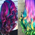 Υπέροχα χρώματα σε κυματιστά μαλλιά!