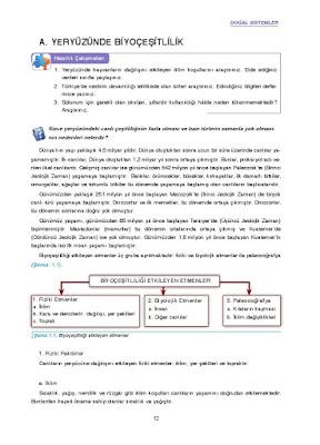11. Sınıf Coğrafya Ders Kitabı Cevapları Gün Yayınları Sayfa 13