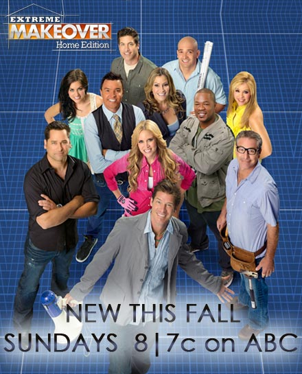 Home Makeover Tv Show: ABC's Extreme Makeover: Home Edition To Tackle Massive