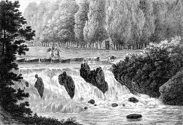 1811 stepping stones across stream
