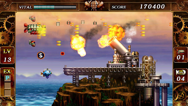 Steel Empire - PC Steam version - Huge cannon - dollar bonus