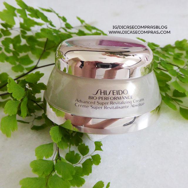 Resenha: Shiseido Bio-Performance Supre creme revitalizante avançado