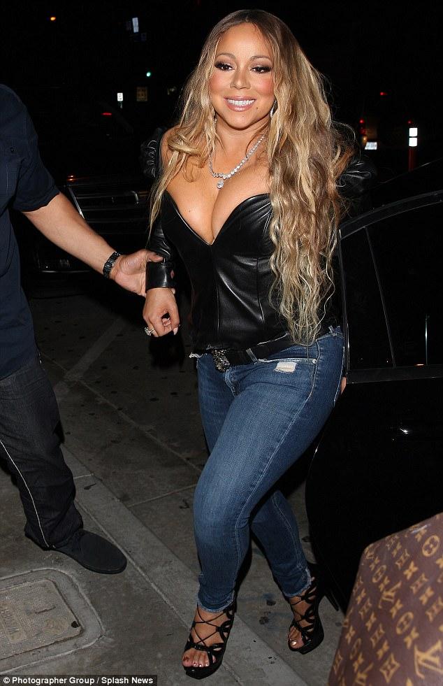 Right! Mariah carey huge tits this brilliant
