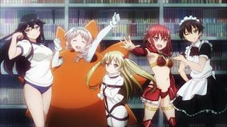جميع حلقات انمي Inou-Battle wa Nichijou-kei no Naka de مترجم عدة روابط