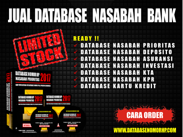 Download Database Nasabah Pemilik Kartu Kredit