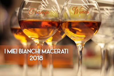 orange wine bianchi macerati vino