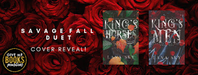 Cover Reveal / Lana Sky's Savage Fall Duet