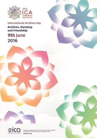 archives, ICA, ICA Congress, poster, International Archives Day,