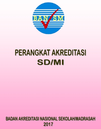 Download Instrumen Perangkat Akreditasi SD/MI 2017