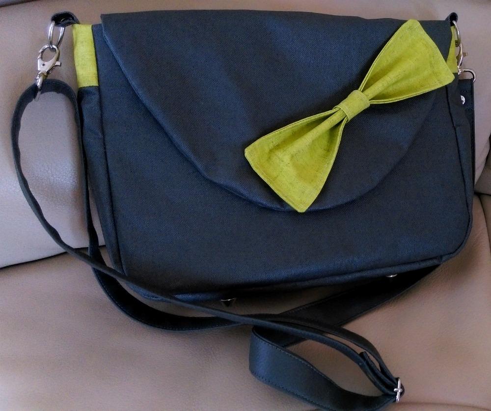 Les aiguilles d 39 amandine couture nouveau sac main en bandouli re - Couture sac a main ...