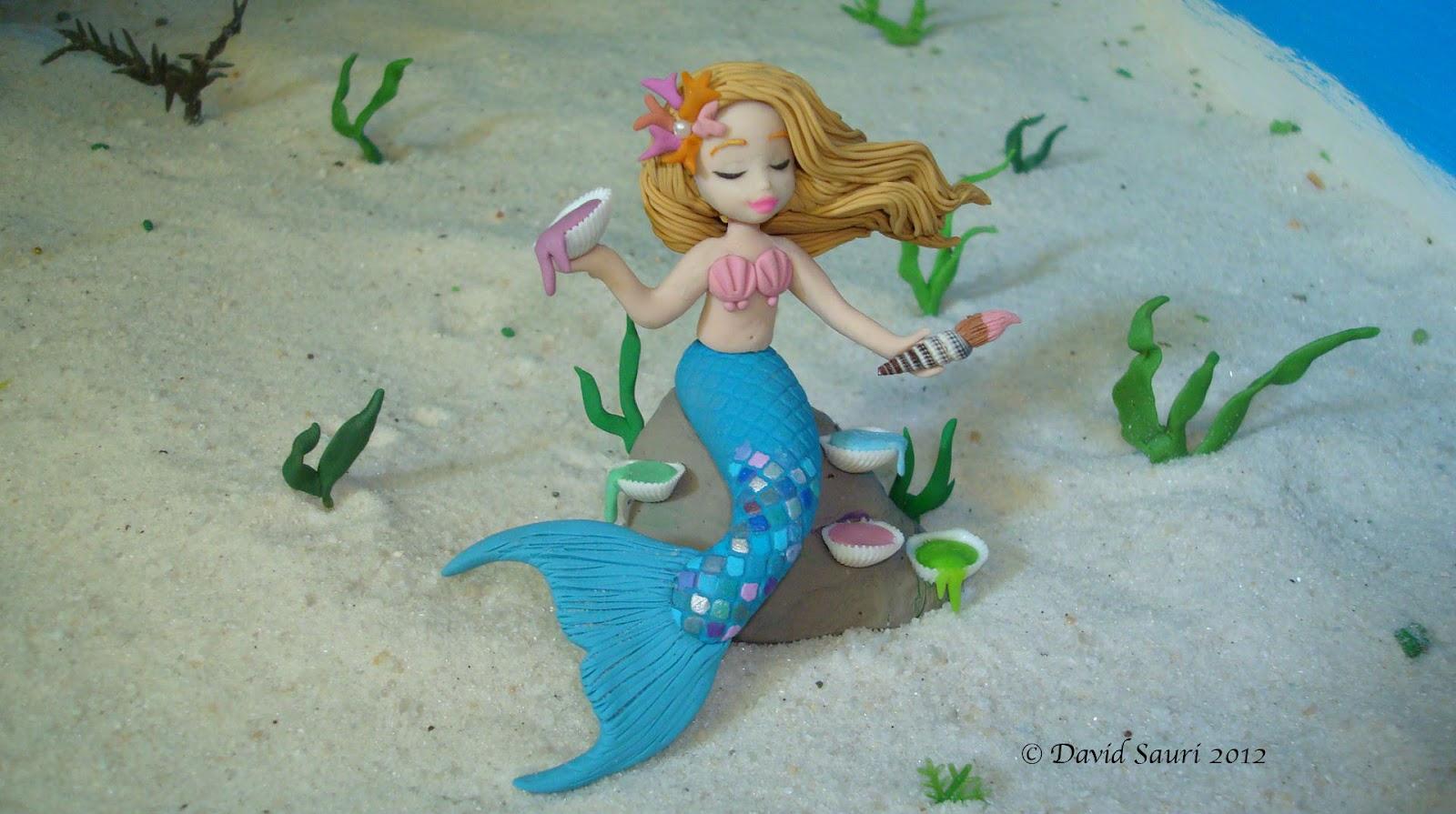 Clay Mermaid