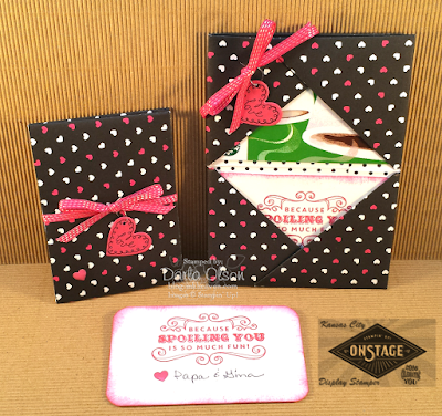 Learn how to make this beautiful gift card holder at Inkheaven