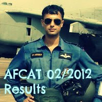 AFCAT 2/2012 SSB Interview Dates & Result