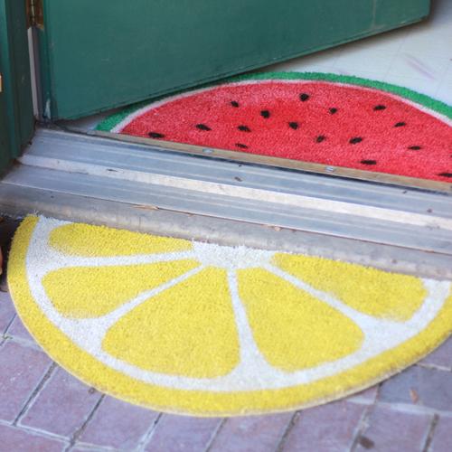 DIY -Felpudo de frutas PASO A PASO